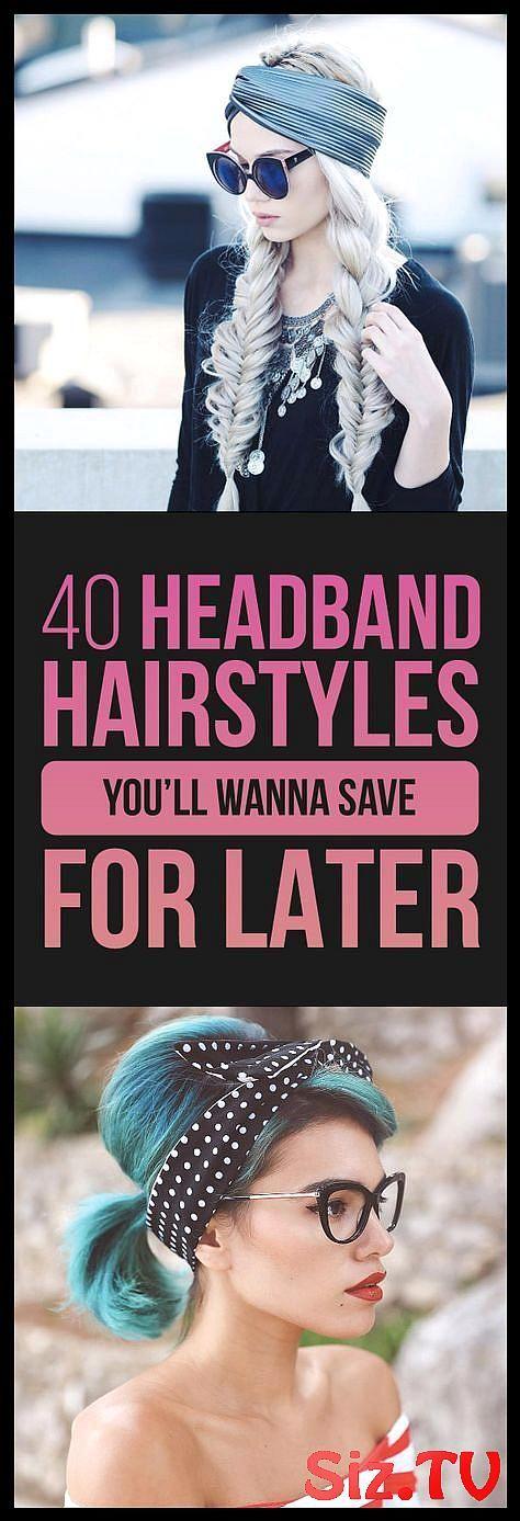 40 Headband Hairstyles You Ll Wanna Save For Later 40 Headband Hairstyles You Ll Wanna Save For Later Tousled Bob Alanna Durkovich Big Bow Headband Br...