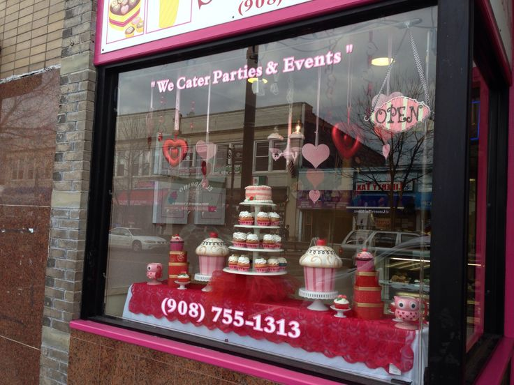 19 best LiVay Sweet Shop Bakery Window Display images on ...