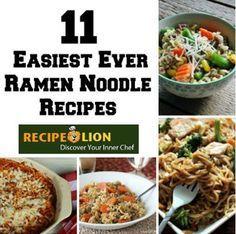 12 Easiest Ever Ramen Noodle Recipes