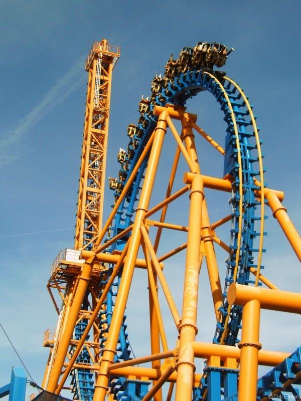 Stunt Fall | Parque Warner Madrid | Spain