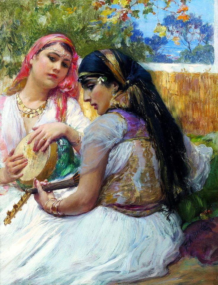 Peinture Algérie - Frederick Arthur Bridgman - ...