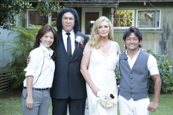 Gene Simmons, Shannon Tweed Renew Wedding Vows