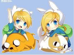 Adventure Time Anime | finn and fionna - adventure time anime Photo (28692679) - Fanpop ...