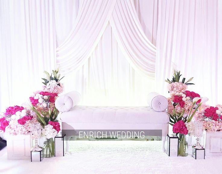 Pelamin Nadhia   Pelamin by Enrich Wedding   Pinterest ...