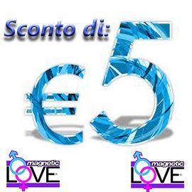 Vinci un Buono sconto di 5€ Magnetic LOVE ®