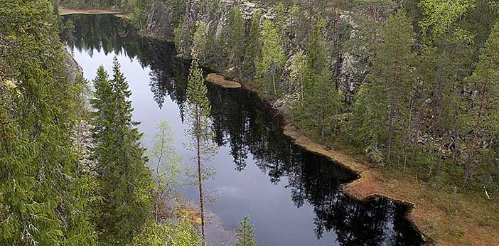 Hiidenportin kansallispuisto - Luontoon.fi Sotkamon saloseudun sydämessä sijaitsevan Hiidenportin alkuvoimainen rotkomaisema on vaikuttava näky. Jylhälle kalliorotkolle johtavan polun varrella voit kokea salaperäisen kuusikon, kauniisti karun kukkaniityn ja kaskiahon tunnelman. Kansallispuisto tarjoaa kohteita ja tarinoita myös kulttuurihistoriasta kiinnostuneelle.