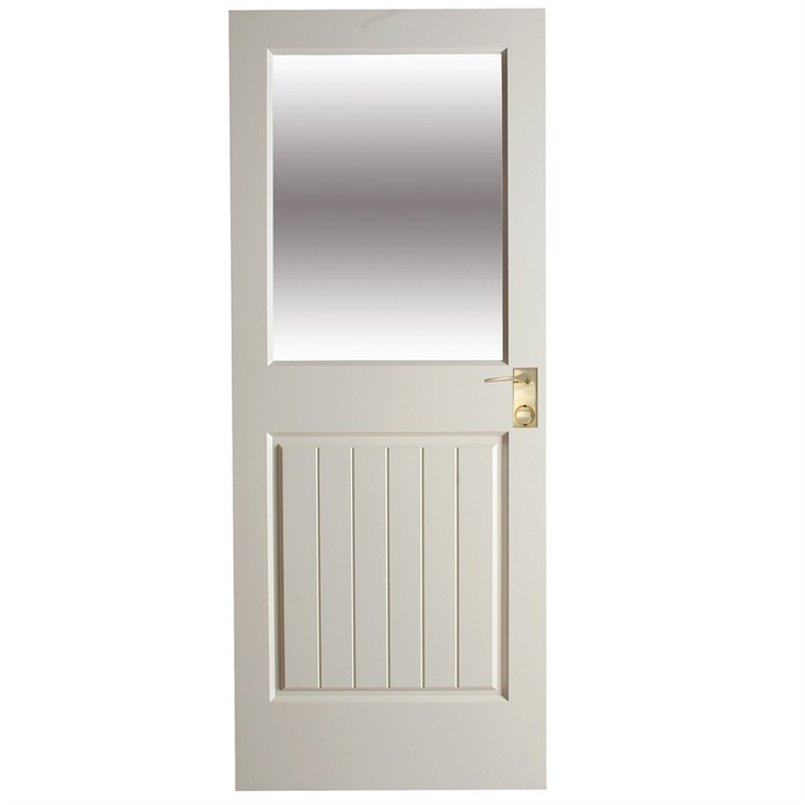 Laundry back door xf8 entrance door with frosted glass for Back door entrance