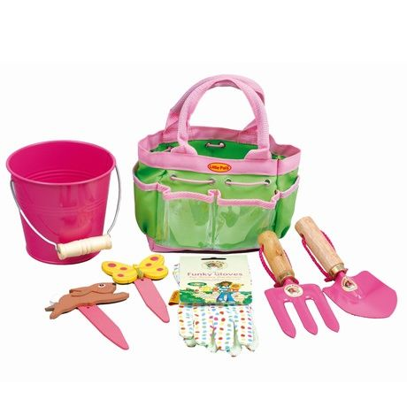 Childrens Gardening Tools - Pink | Find Me A Gift