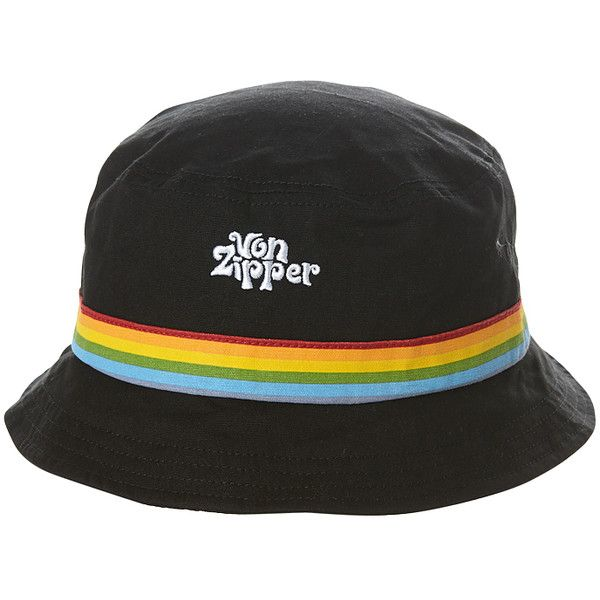 Mens Vonzipper Hello Bucket Hat Black Cotton (150 DKK) ❤ liked on Polyvore featuring men's fashion, men's accessories, men's hats, accessories, black, bucket hats, mens hats, mens fishing hats and mens bucket hats