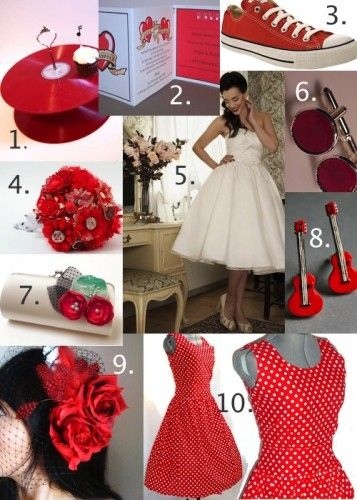 Amazing Super Cute Rockabilly Wedding Ideas