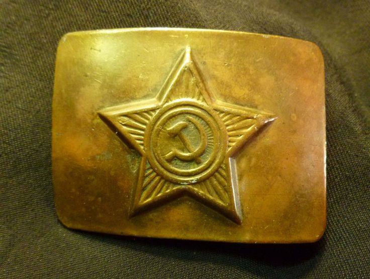 Original russian #soviet army soldier #uniform brass belt #buckle ussr,  View more on the LINK: http://www.zeppy.io/product/gb/2/371801983857/