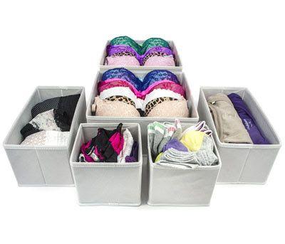 16 best Underwear Fabric storage divider box images on ...