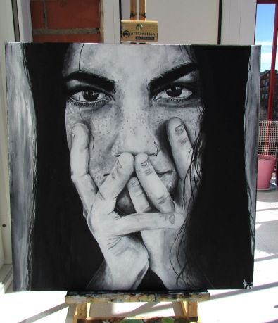 Nyctophile - Pintura de Inés Gonzalez