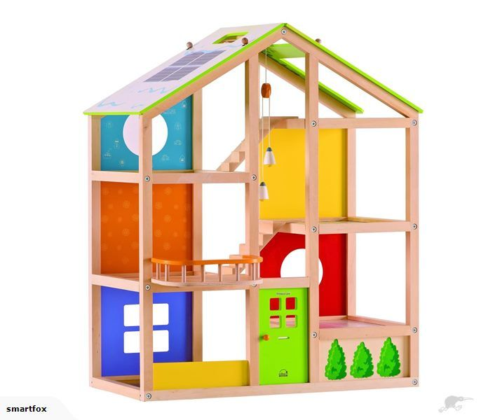 Wooden Doll House - Unfurnished - Hape | Trade Me