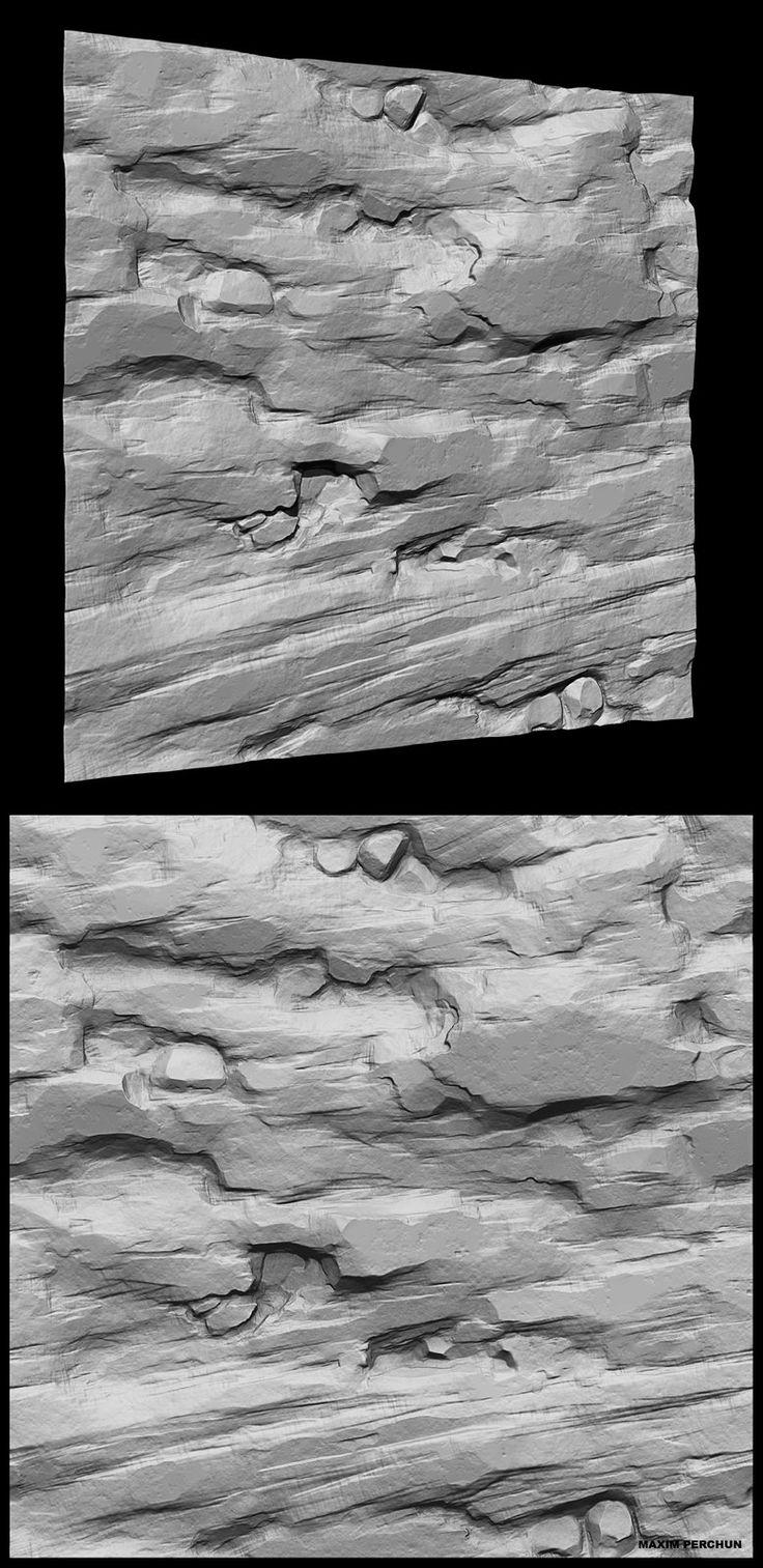 rock_tiling_speed_sculpting_study, Maxim Perchun on ArtStation at https://www.artstation.com/artwork/rock_tiling_speed_sculpting_study