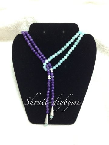 124 best lariat necklace images on pinterest diy jewelry lariat diys do it yourself slip knot necklace solutioingenieria Images