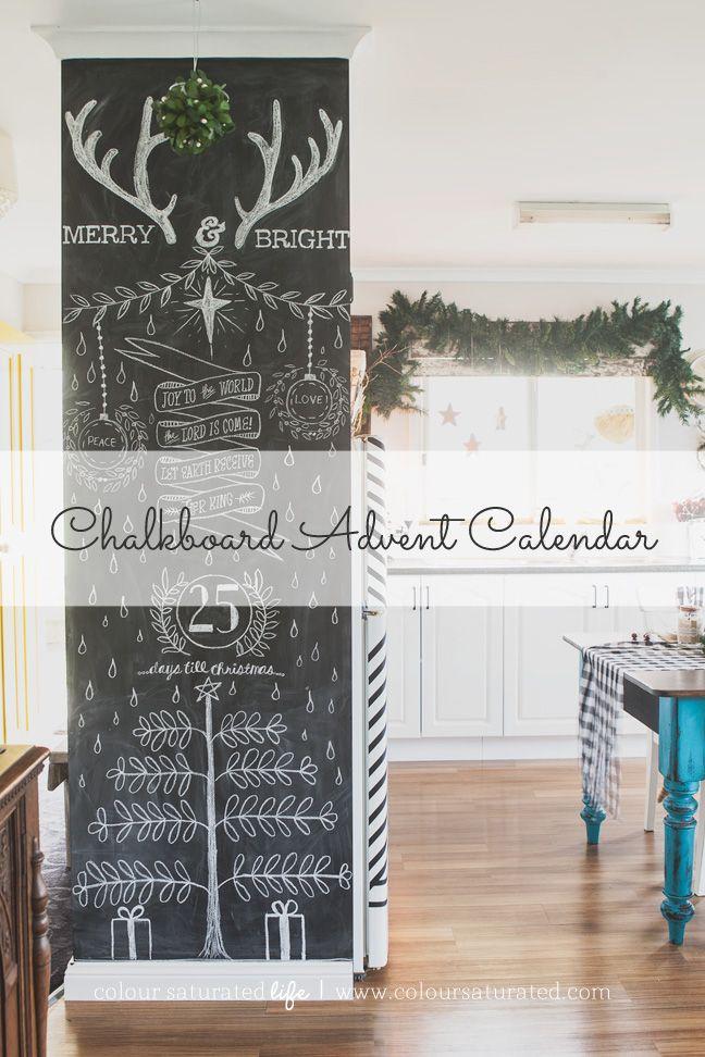 Christmas Advent Calendar   Colour Saturated Life - www.coloursaturatedlife.com