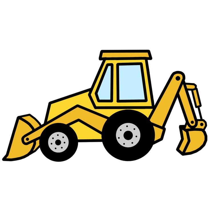 94 best equipment images on pinterest clip art illustrations and rh pinterest com backhoe clip art images backhoe clipart vector