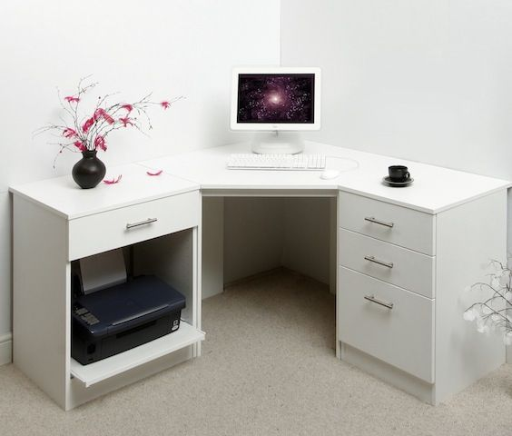 best 25 white corner desk ideas on pinterest desk to vanity diy corner dressing table and makeup chair