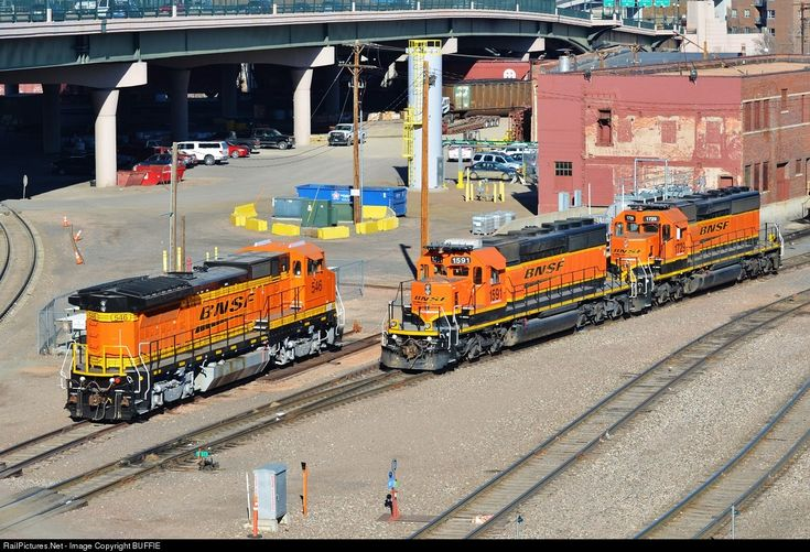 RailPictures.Net Photo: BNSF 1591 BNSF Railway EMD SD40-2 at Denver, Colorado by BUFFIE