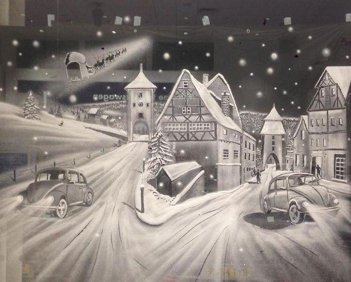Прекрасный рисунок от Tom Baker.
