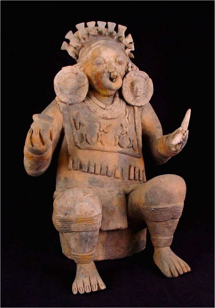 Ceramica de la cultura Valdivia-Colombia