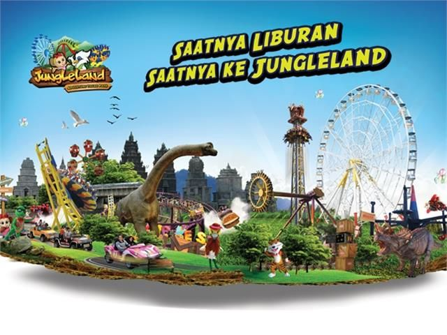 High Season Entrance Ticket to Jungleland. Find at https://bingkis.co.id/gift/detail/high-season-entrance-ticket-to-jungleland-1180