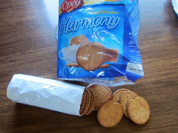Galletas Harmony Opey (Lidl) - 1 unidad 0,5 puntos