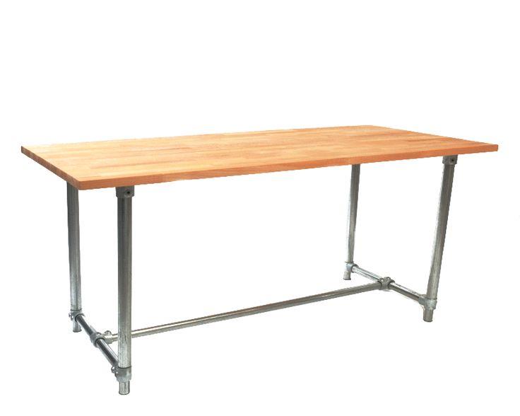 Basic adjustable height desk kit simplified building $240 - Beautiful telescoping table legs Simple Elegant