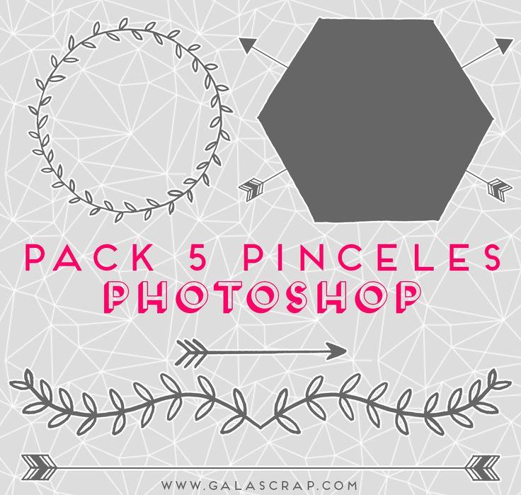 Doodles bonitos - Pinceles para Photoshop - Photoshop brushes free