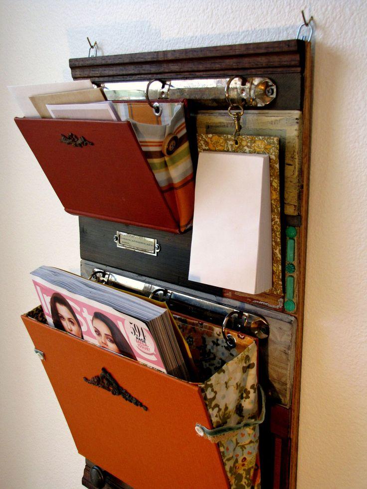 sample sale salvaged wood mail organizer by salvagedsanity. Black Bedroom Furniture Sets. Home Design Ideas