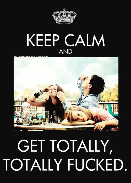 Keep Calm - Skins <3