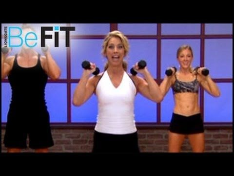 How to lose weight in the shoulder and back video