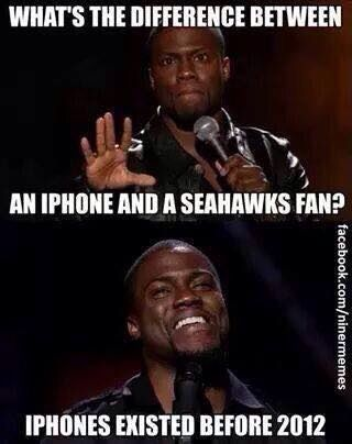 Haha Seahawks fans