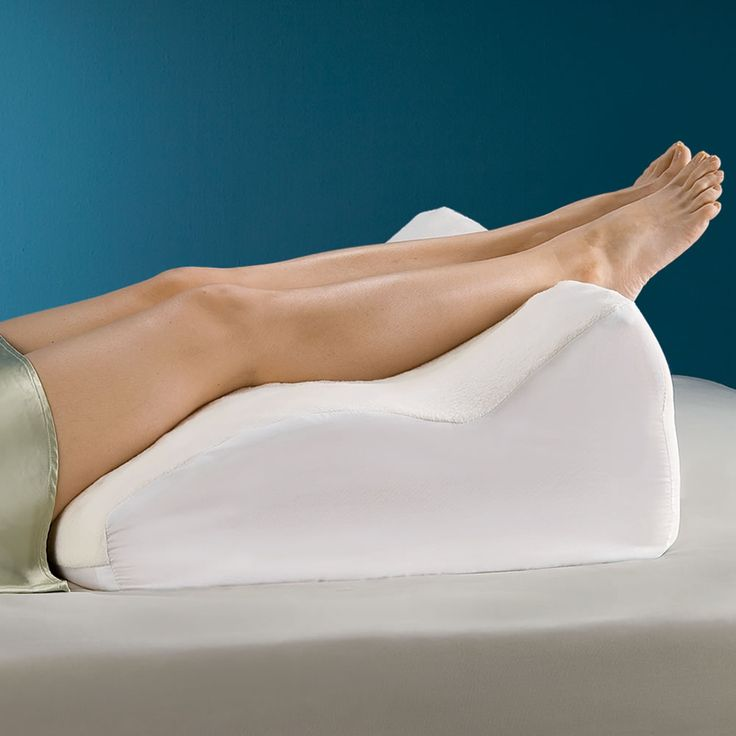 The Pain Relieving Contoured Leg Support - Hammacher Schlemmer    I would seriously use this all of the time.