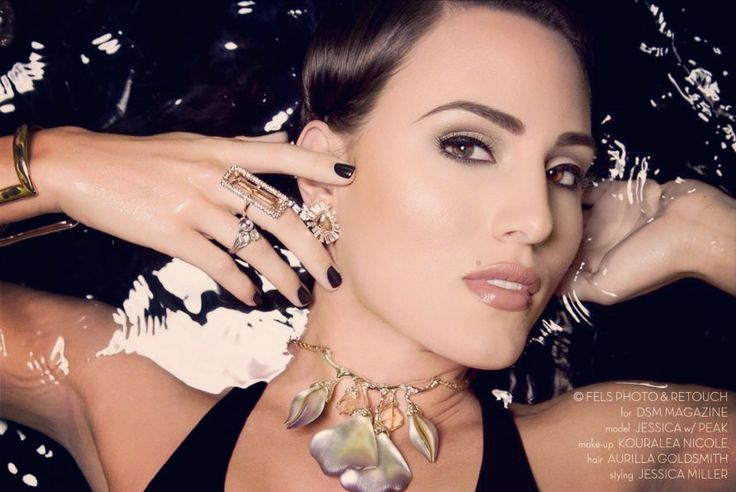 Fashion - Model - Jewelry - Makeup - Water proof
