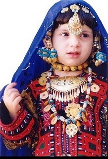 Baluchi girl: lots of Baluchis live in Oman. I lived in their area of Muscat - parties nearly every night