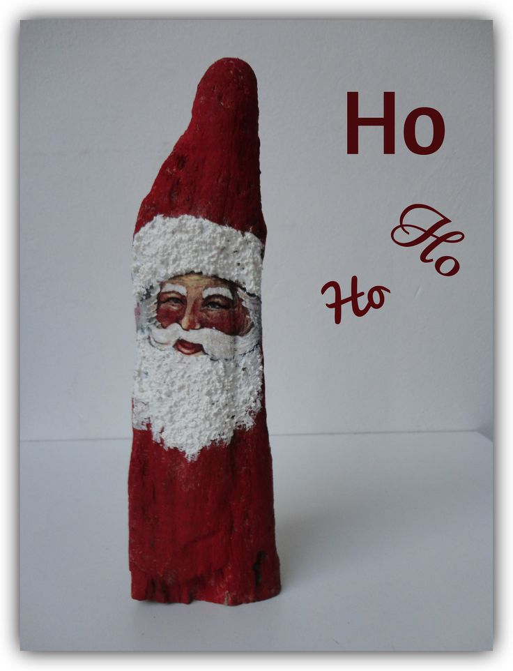 Driftwood christmas decoration. Driftwood santa claus