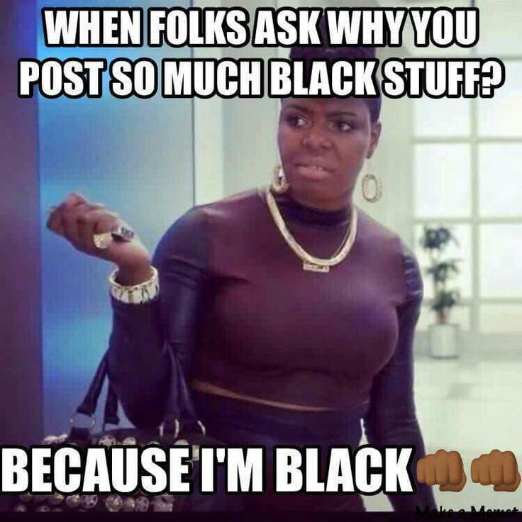 Or if you aren't, are white, and respect Black Excellence and Superiority.  #BlackFemaleSupremacy