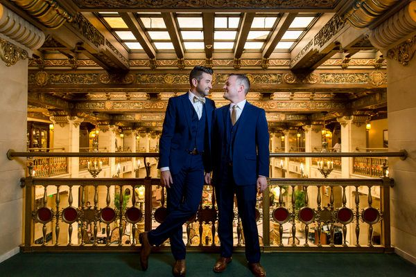 Art Deco Theatre Wedding Venue | Jerome Pollos Photography on @applebrides via @aislesociety