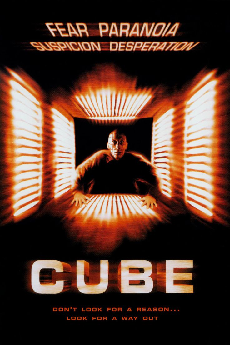 Cube (1997): Humans are rats in a deadly maze in this Vincenzo Natali directed little gem.