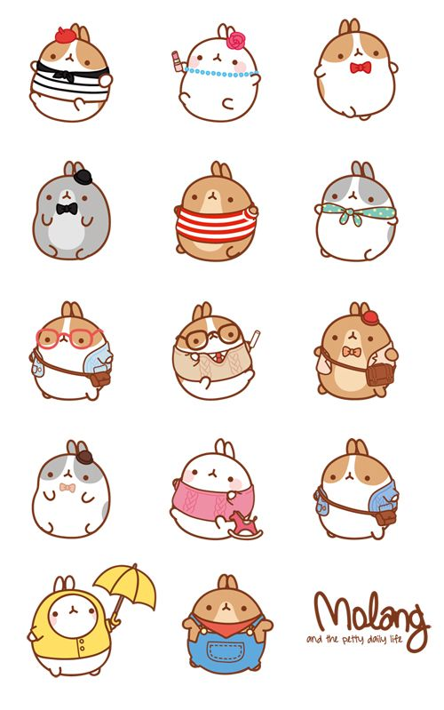 #Molang #Cute