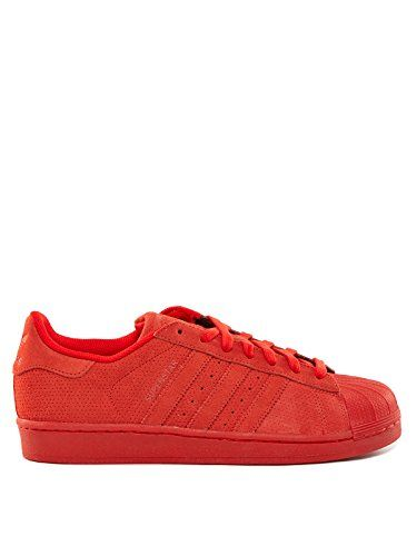 Hamburg, Baskets Basses Homme, Rouge (Red/Footwear White/Gold Metallic), 44 EUadidas