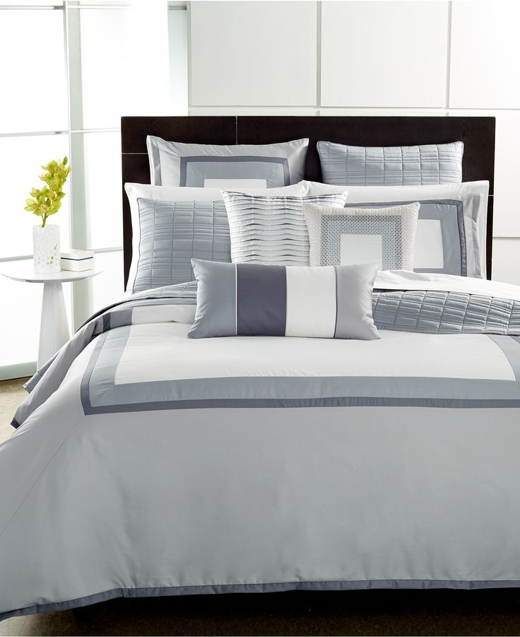 hotel collection modern frame bedding collection created for macyu0027s