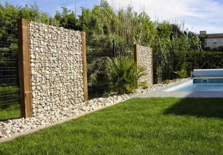 Gaviones y muros de alambre y piedras - 63 diseños