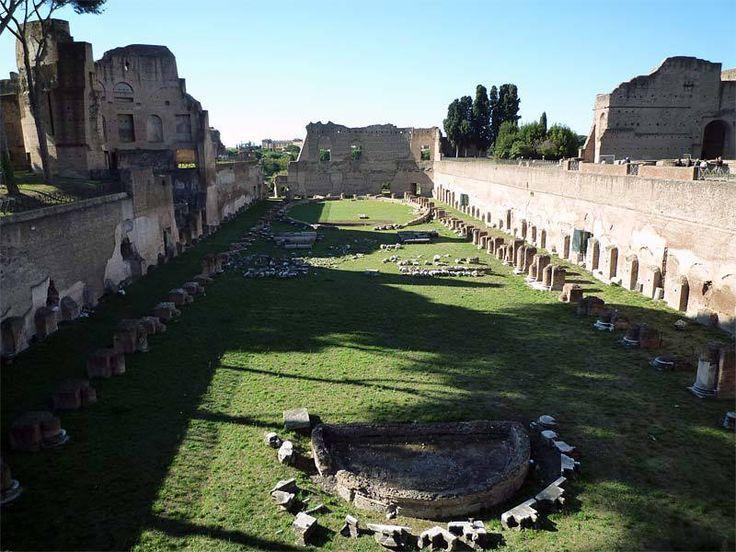 Stade du Mont Palatin à Rome
