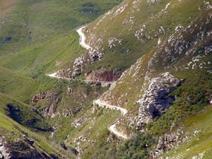 Ride the adventurous Montegu Pass on a BMW GS motorcycle. South Africa Backroads Motorcycle Adventure with MotoQuest. Click here to know more: https://www.motoquest.com/guided-motorcycle-tour.php?south-africa-motorcycle-adventure-12