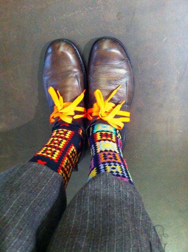 GrandMa by Oybō: 1 pair, 2 different socks.