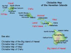 Best Map Of Hawaii Ideas On Pinterest Oahu Map Hawaii - Map of hawaii