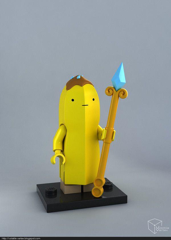 LEGO Banana Guard minifig on Behance